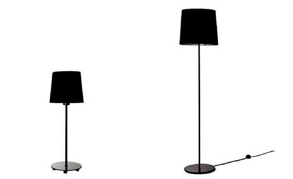 Kích thước đèn cây đứng phòng ngủ