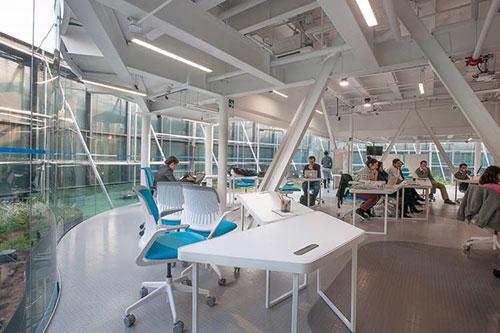 Xu hướng thiết kế nội thất văn phòng hiện đại mô hình Co-working Space