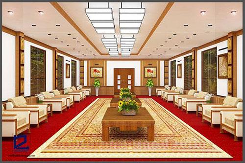 Thiết kế nội thất phòng khánh tiết KT-DG13