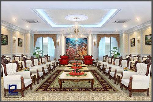 Thiết kế nội thất phòng khánh tiết KT-DG08