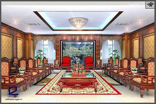 Thiết kế nội thất phòng khánh tiết KT-DG09