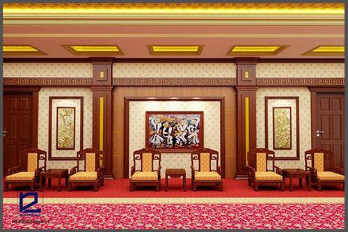 Thiết kế nội thất phòng khánh tiết KT-DG10