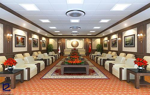Thiết kế nội thất phòng khánh tiết KT-DG01