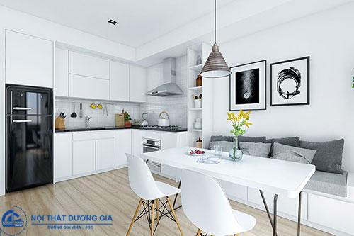 Cách bố trí phòng bếp theo phong thủy cần chú ý đến vị trí