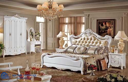 Đồ gỗ nội thất Hàn Quốc dùng cho phòng ngủ