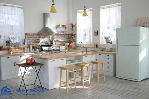 Đồ gỗ nội thất Hàn Quốc dành cho phòng bếp