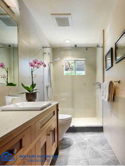 Đồ gỗ nội thất Hàn Quốc dành cho phòng tắm