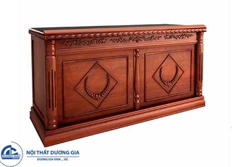 Tính thẩm mỹ của bàn hội trường gỗ tự nhiên, gỗ công nghiệp
