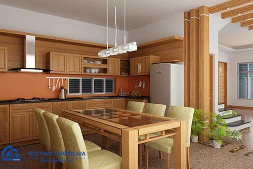 Đặc điểm của phòng bếp nhỏ, phòng bếp nhà ống