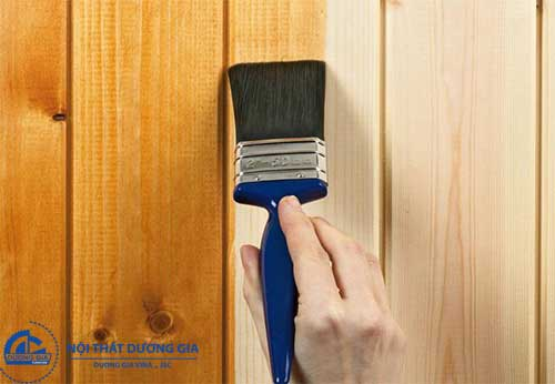 Cách đánh sơn vecni đồ gỗ cho nội thất đã cũ