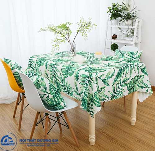 Khăn trải bàn dùng cho loại bàn văn phòng hình chữ nhật