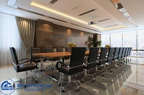 Mua nội thất văn phòng ở Dương Gia được thiết kế thi công theo yêu cầu