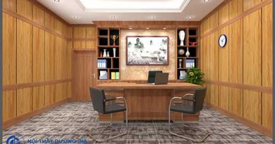 Những ưu điểm khi thiết kế phòng tổng giám đốc tại Dương Gia