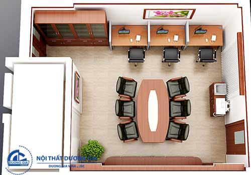 Lựa chọn sơn tường sáng màu cho văn phòng nhỏ hẹp