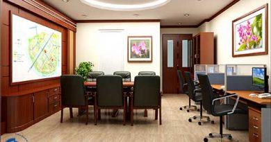 Hướng dẫn thiết kế văn phòng nhỏ đẹp, gọn gàng và tiện nghi