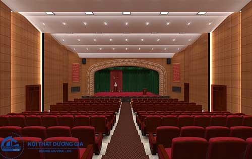 Tiêu chuẩn chung khi thiết kế nội thất hội trường