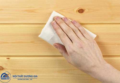 Ưu - Nhược điểm của cách đánh sơn vecni đồ gỗ