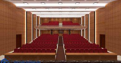 Mẫu thiết kế thi công nội thất hội trường HT-DG23