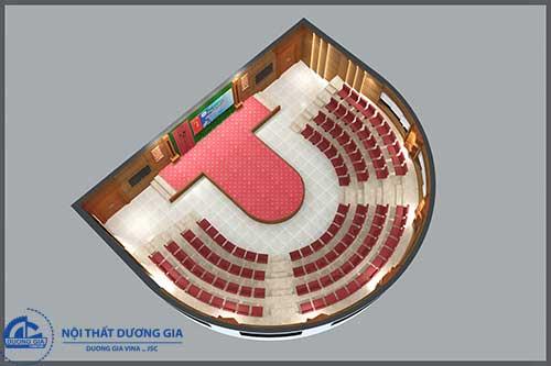 Mẫu thiết kế nội thất hội trường đa năng HT-DG24