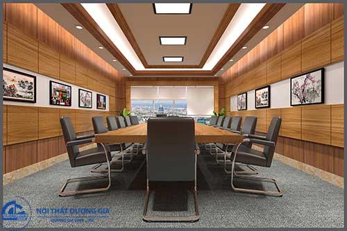 Chú ý đến yếu tố phong thủy khi thiết kế nội thất phòng họp