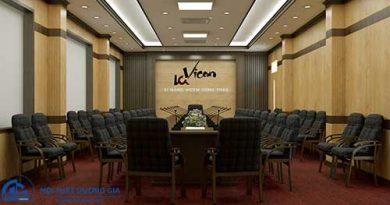 Công ty thiết kế nội thất phòng họp đẹp, uy tín tại Hà Nội
