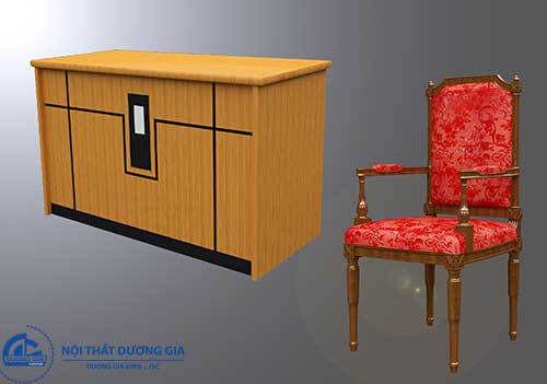 Mẫu ghế hội trường gỗ tự nhiênGHT-TN02