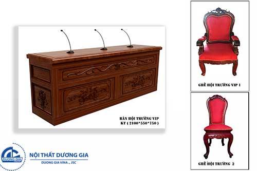 Mẫu ghế gỗ hội trường đẹp GHT-TN01