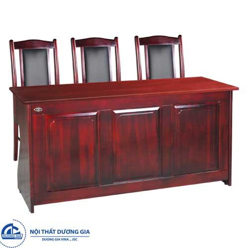 Mẫu bàn ghế hội trường gỗ tự nhiênBHT12DH2+GHT11