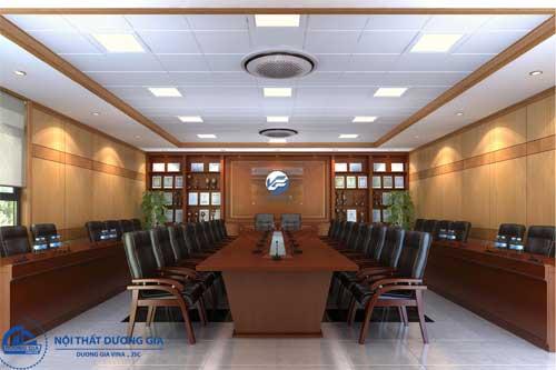 Mẫu thiết kế nội thất phòng họp đẹp 2