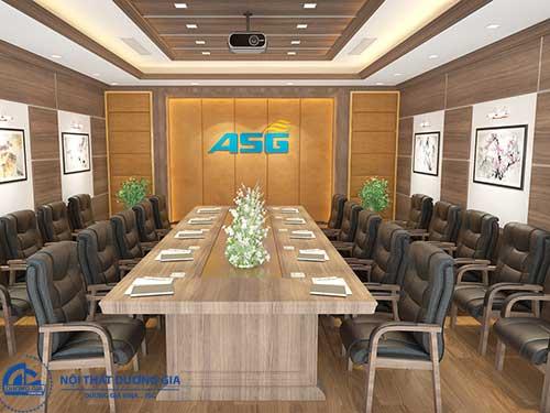 Mẫu thiết kế nội thất cho phòng họp số 3