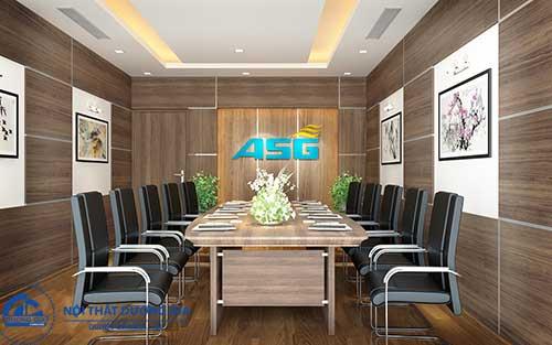 Mẫu thiết kế nội thất phòng họp đẹp số 4
