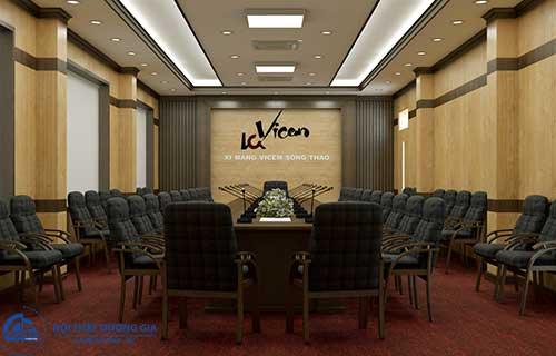 Mẫu thiết kế nội thất phòng họp đẹp số 5