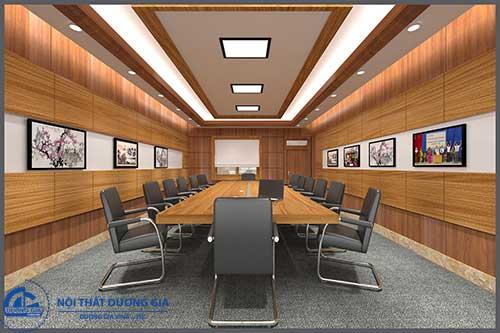 Mẫu thiết kế nội thất phòng họp đẹp 1