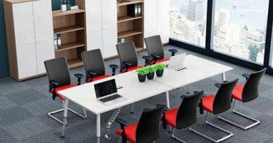 Tuyệt chiêu lựa chọn bộ bàn ghế phòng họp văn phòng chuẩn nhất