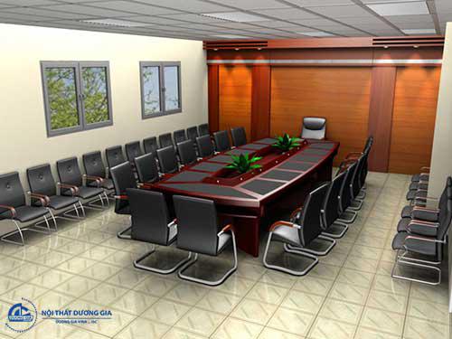 Chọn mẫu bàn ghế phòng họp theo phong cách thiết kế