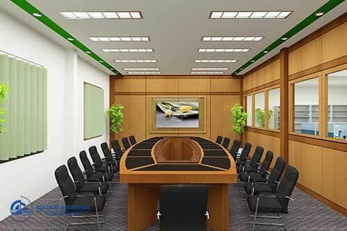 Mang thiên nhiên vào không gian nội thất phòng họp