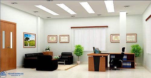 Bố trí nội thất phòng Giám đốc đẹp tăng tính thẩm mỹ cho không gian