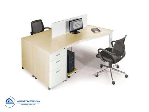 Mẫu bàn làm việc giá rẻ, hiện đại BZCO14-2