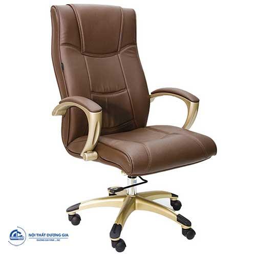 Mẫu ghế văn phòng Giám đốc hiện đại, sang trọng bằng da - ghế sg912