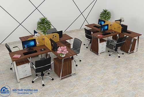 Chú ý màu sắc của các mẫu nội thất văn phòng đẹp