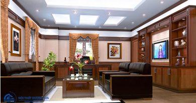 Tại sao cần bố trí nội thất phòng Giám đốc đẹp, sang trọng?