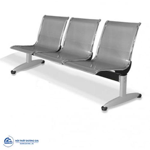 Ghế phòng chờ inox 3 chỗ GC01S-3