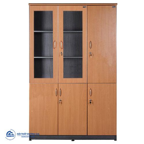 Mẫu tủ đựng tài liệu bằng gỗ thanh lịch NT1960-3BK
