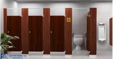 Những ưu nhược điểm nổi bật của vách ngăn nhà vệ sinh MFC