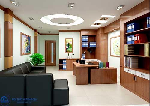 Thiết kế nội thất phòng Giám đốc với sản phẩm hiện đại, đa năng