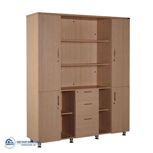 Tủ gỗ đựng tài liệu văn phòng tiện nghi HR1960-3K
