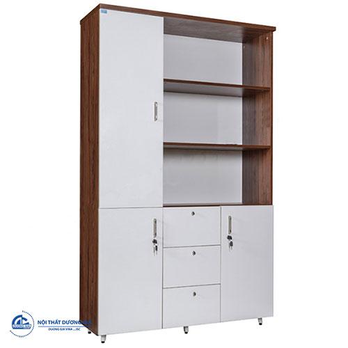 Tủ gỗ văn phòng Hòa Phát giá rẻLUX1960-3B2