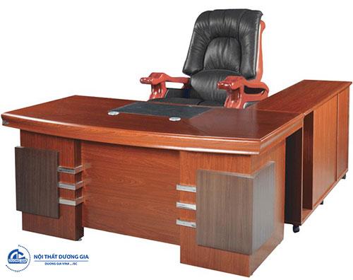Bàn ghế gỗ văn phòng: Bàn DT1680H24 - Ghế TQ21