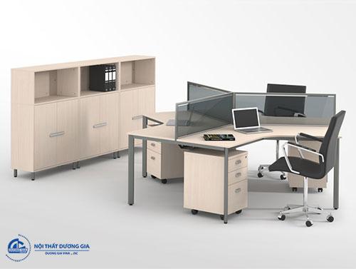 Mua vách ngăn bàn làm việc văn phòng bằng kính ở đâu?
