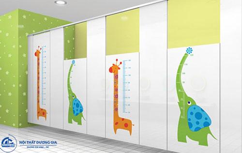 Vách vệ sinh Compact chịu nước mang tính thẩm mỹ cao